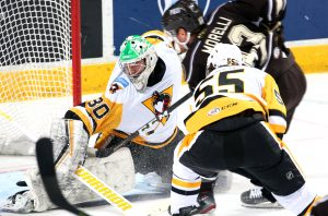 Read more about the article PENGUINS LOSE TO BEARS IN FEISTY SEASON FINALE
