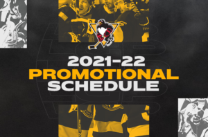 Read more about the article PENGUINS REVEAL 2021-22 PROMOTIONAL SCHEDULE