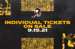 Read more about the article INDIVIDUAL GAME TICKETS GO ON SALE WEDNESDAY, SEPT. 15