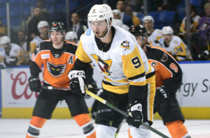 """Read more about the article PENGUINS LED BY """"BIG Z"""" IN 4-2 VICTORY OVER PHANTOMS"""