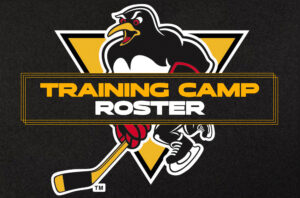 Read more about the article PENGUINS ANNOUNCE TRAINING CAMP ROSTER